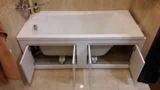Екран для ванни