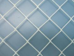 Mesh sports nylon barrier