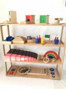 Montessori materials, wooden toys, busybody