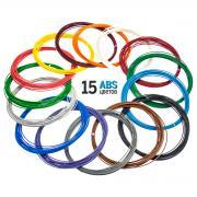 Набір ABS / АБС пластик для 3д ручки Ø1.75мм від Plexiwire