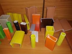 Профили стеклопластиковые конструкционные строительные PSK