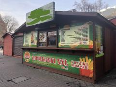 Selling kiosk in Katowice - a business in Poland