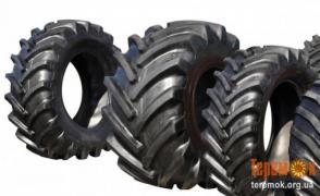 Шини тракторні, вантажні шини, сільськогосподарські шини. покрила