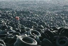 Утилизация шин легковых, грузовых от спец. техники